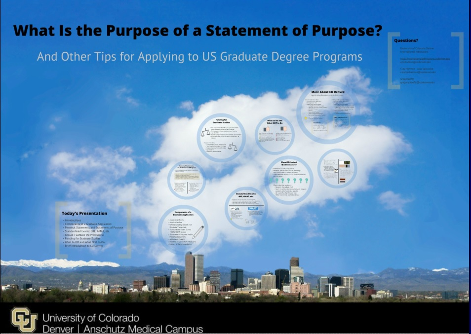 denver statement of purpose website