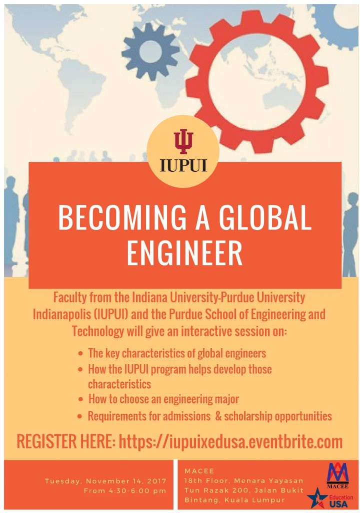 Becoming a Global Engineer Flyer