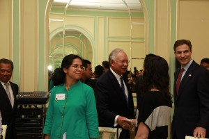 PM Najib and ETA Shalene Gupta