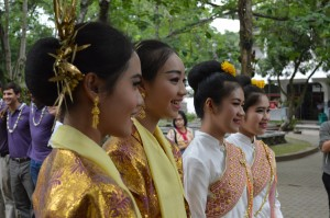 Thai dancer students