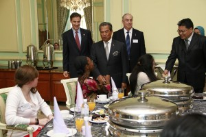 ETAs with Deputy PM, Muhydin