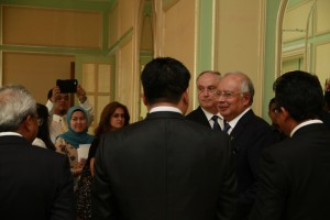 PM Najib and Dr Coffman