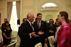 PM Najib and ETA Julie Meadows